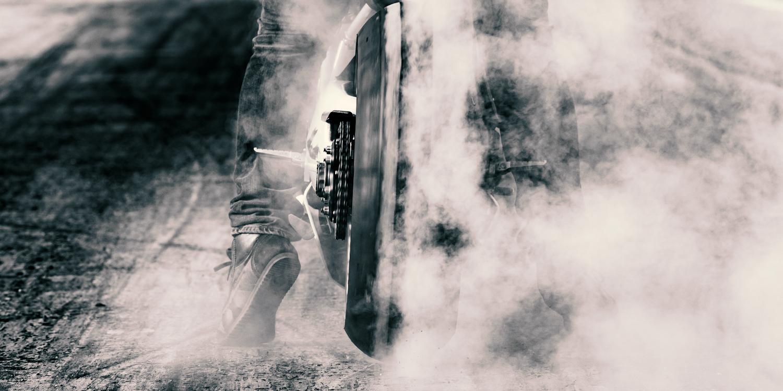 Motorradstuntshow Axel Winterhoff